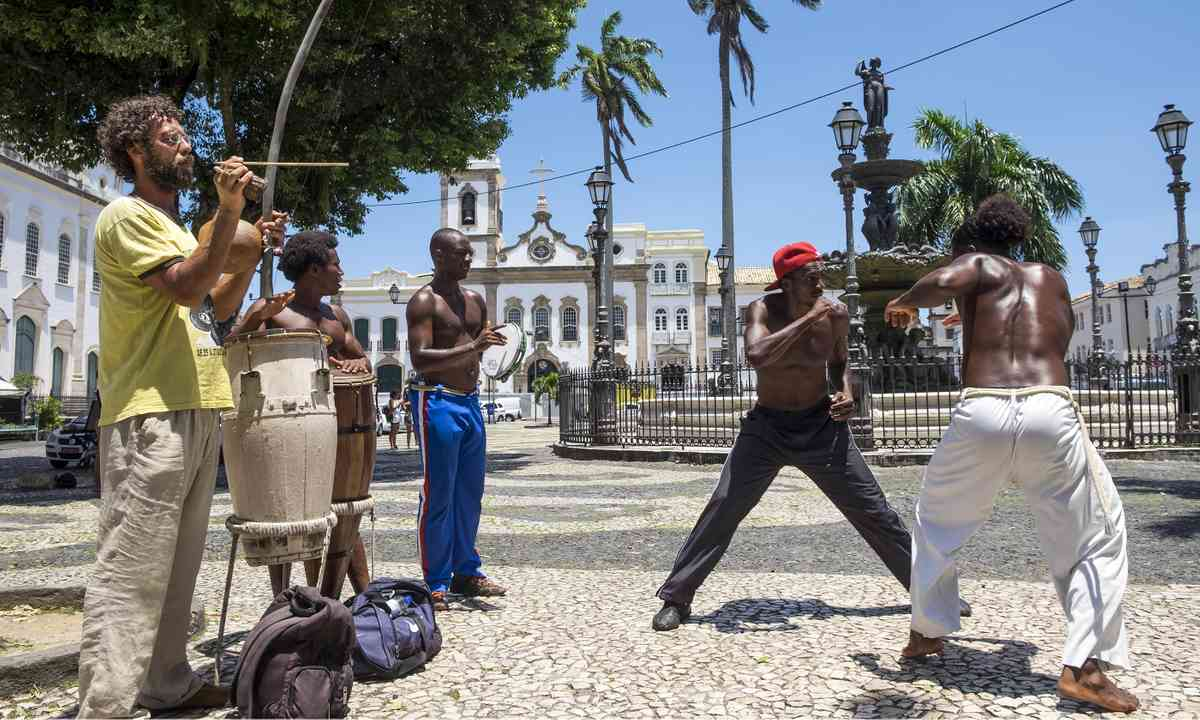 A capoeira performance in Salvador (Dreamstime)