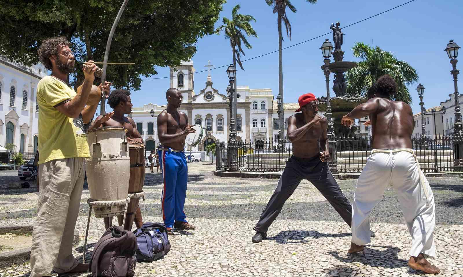 A capoeira performance in Salvador (Dreamstime)