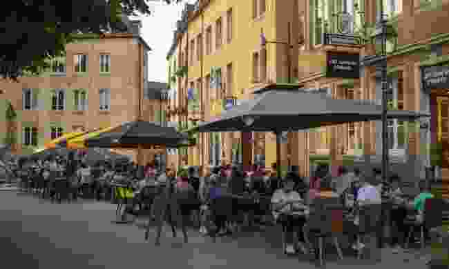Enjoy Luxembourg's many bistros ( Alfonso Salgueiro/LFT)