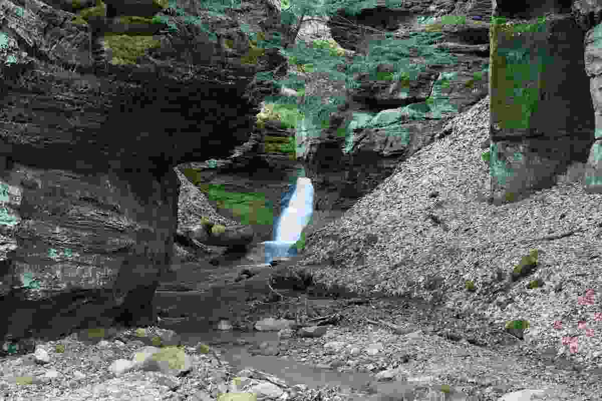 A cove in West Woods, Geauga District, Ohio (Dreamstime)