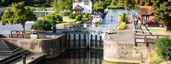 Goring Weir, Thames Valley (Shutterstock)