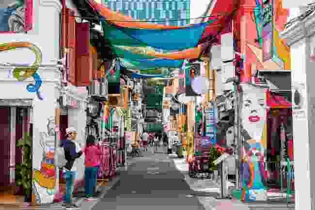 Haji Lane near Arab Street, in Singapore's Arab Quarter (Shutterstock)