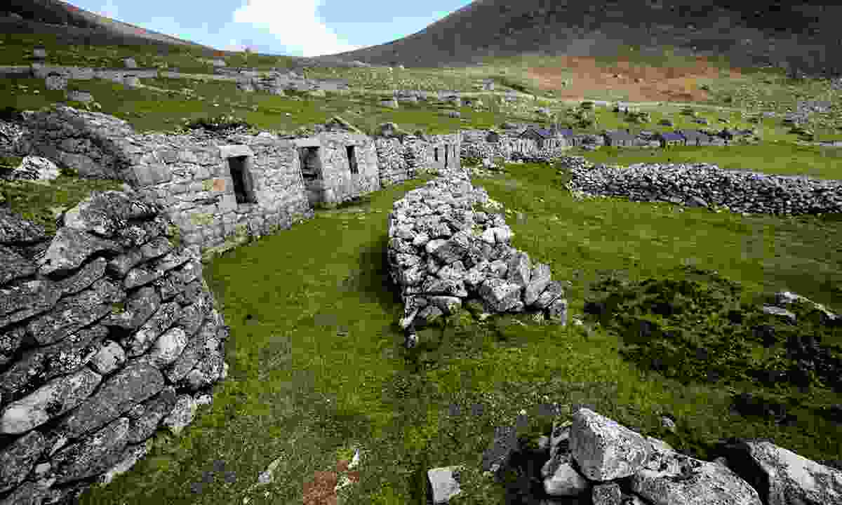 Rugged yet beautiful ruins in the Shetland Islands (Aurora Expeditions)