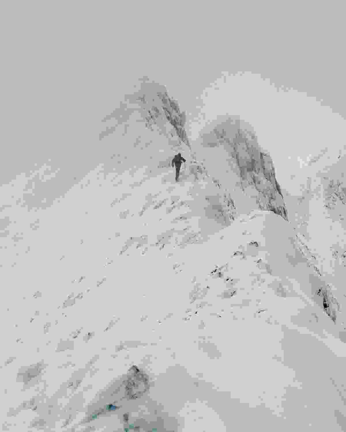 Crib Goch in winter. There is no place for the inexperienced (Nick Livesey)