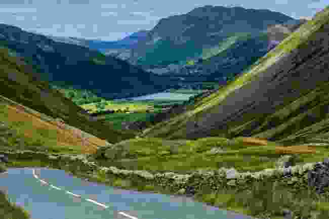 Cycling through the Lake District can present challenges (Shutterstock)