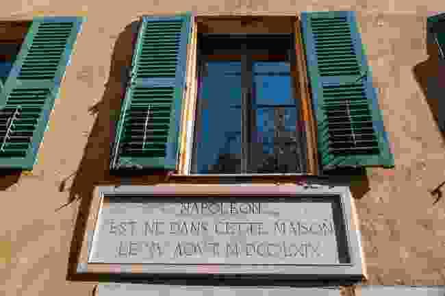 Maison Bonaparte, Napoleon's birthplace (Dreamstime)