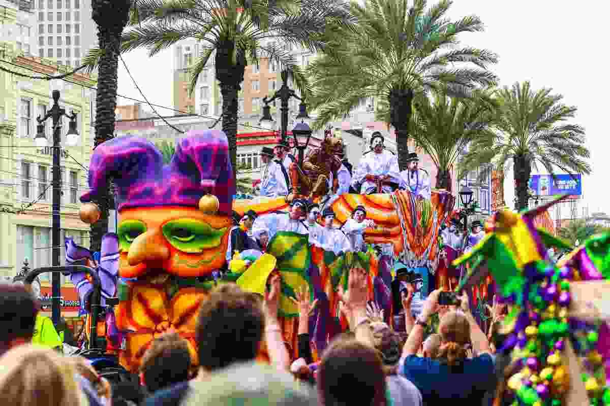 Mardi Gras in New Orleans (Shutterstock)