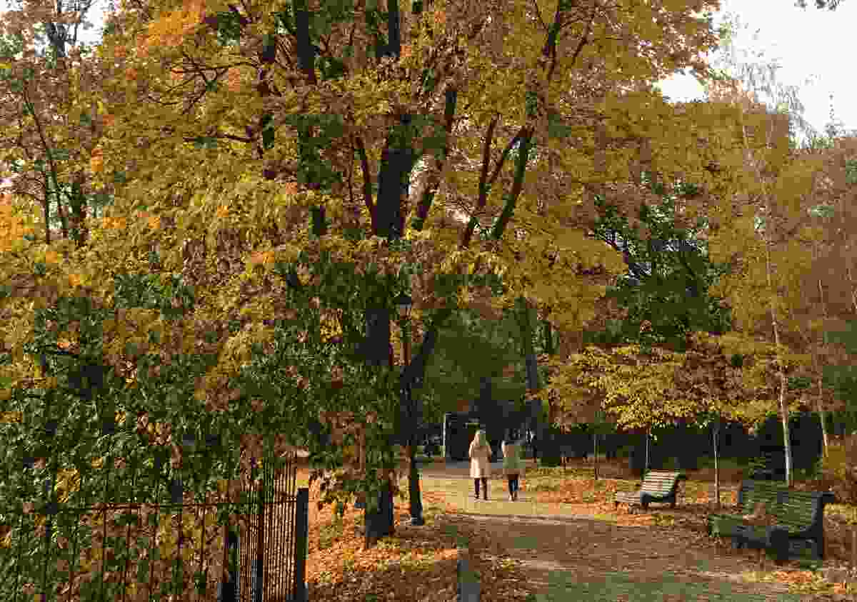 An autumn walk through Mariinsky Park, Kiev (Elizabeth Atkin)