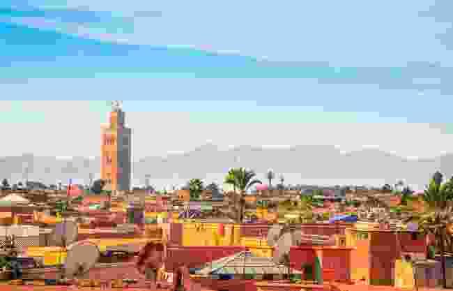 Marrakech, Morocco (Shutterstock)