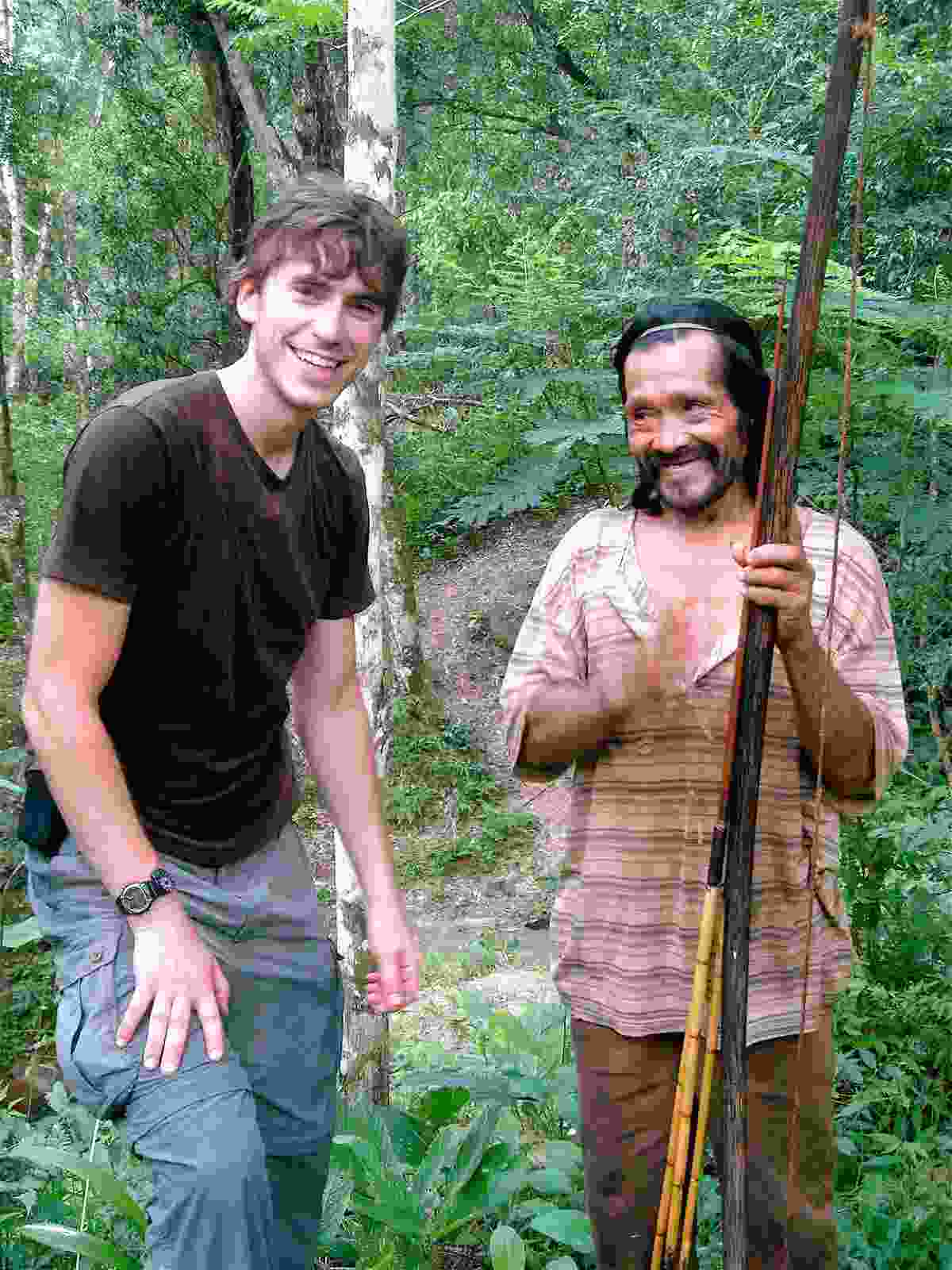 Simon Reeve on one of his many adventures (BBC Pictures)