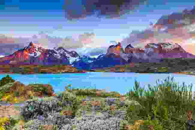 Pehoe Lake in Patagonia National Park, southern Chile (Shutterstock)