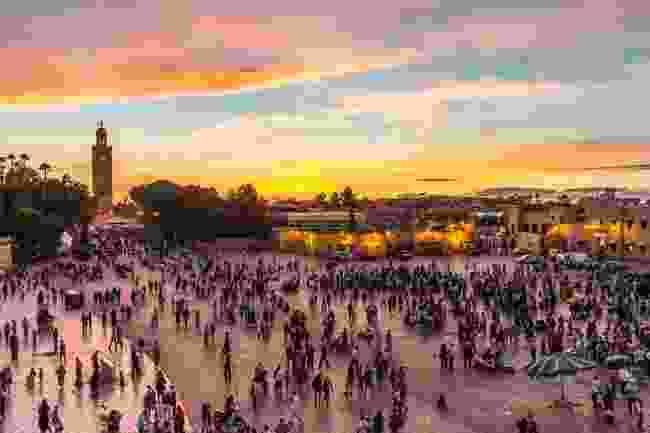People watching in Marrakech (Shutterstock)