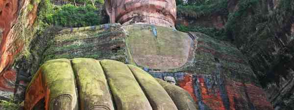 Leshan Giant Buddha, China (Shutterstock)