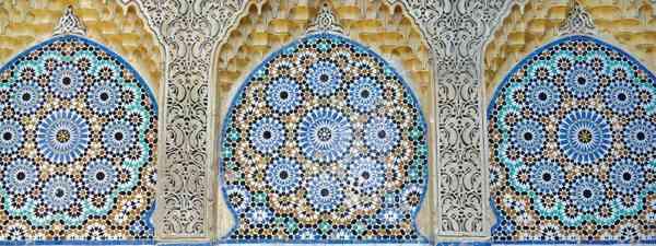 A tiled fountain in Tangier (Sarah Gilbert)