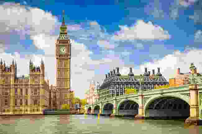 Big Ben and Houses of Parliament, London (Shutterstock)