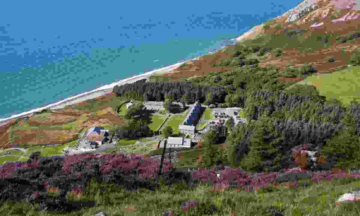 The coast around Porth y Nant (Shutterstock)