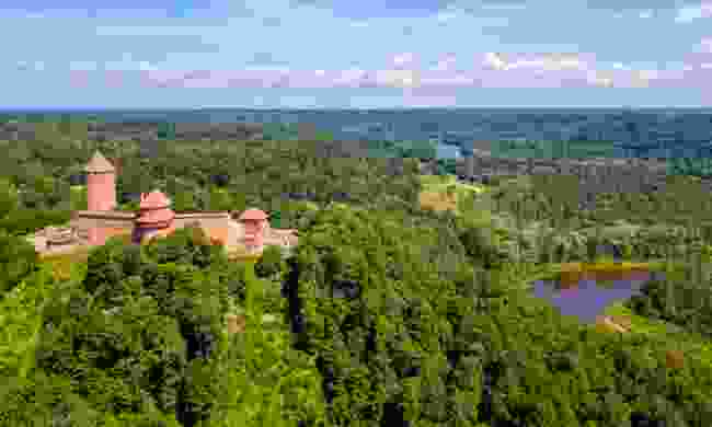 Turaida Castle at Gauja National Park, Latvia (Shutterstock)