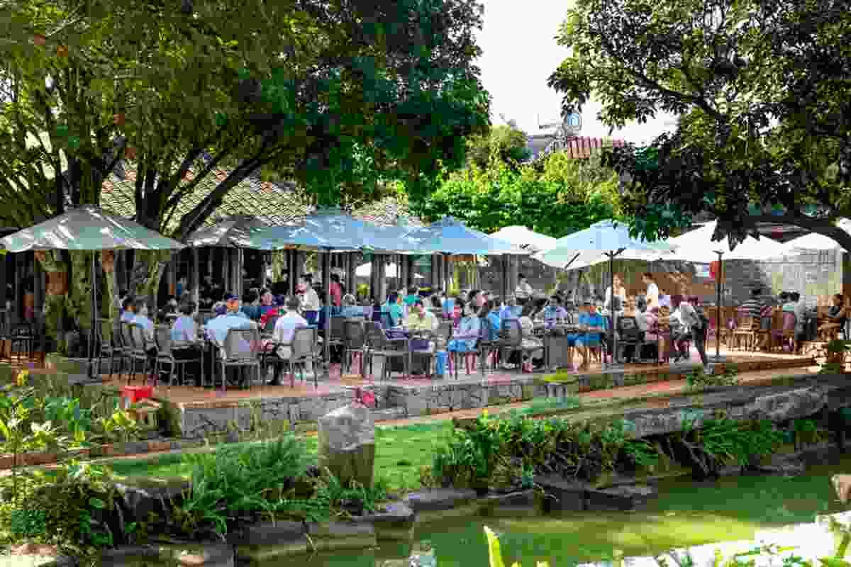 A Trung Nguyen cafe in Buon Ma Thuot city (Shutterstock)