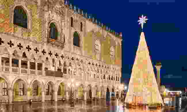 Venice, Italy at Christmas (Shutterstock)