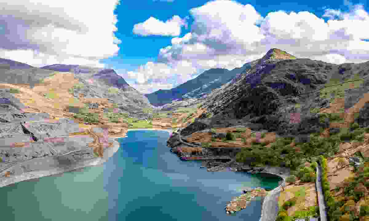 Aerial view of Snowdonia National Park (Shutterstock)
