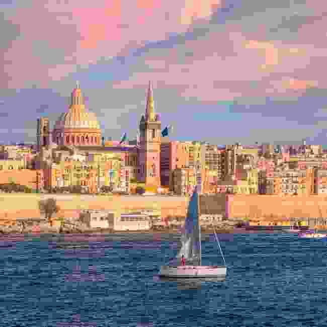Valletta has regular ferry services across its harbours (Shutterstock)