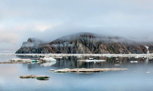 L'île Wrangel, dans la mer de Chuckchi, est dépourvue de gens, donc la distance sociale ici serait un jeu d'enfant (Shutterstock)