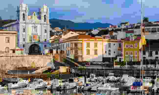 Terceira's Angra do Heroismo is one of the Azore's many UNESCO sites (Shutterstock)