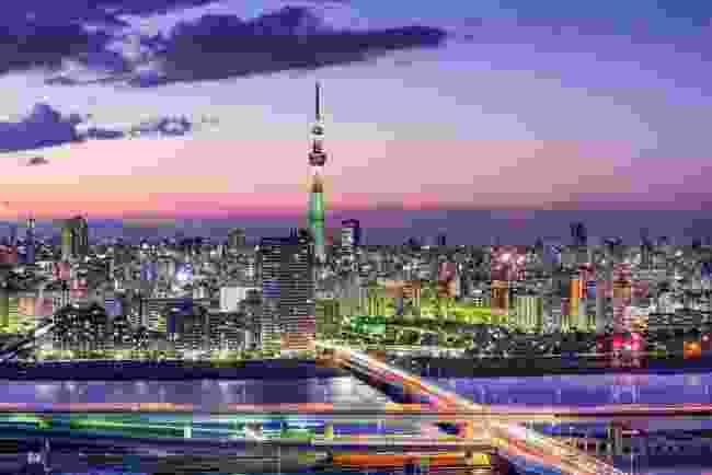 The Tokyo Skytree towers above the city's other skyscrapers (Shutterstock)