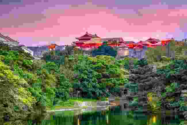 Shurijo Castle in Okinawa (Shutterstock)