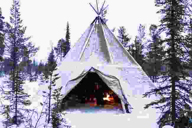 A traditional tepee (Shutterstock)