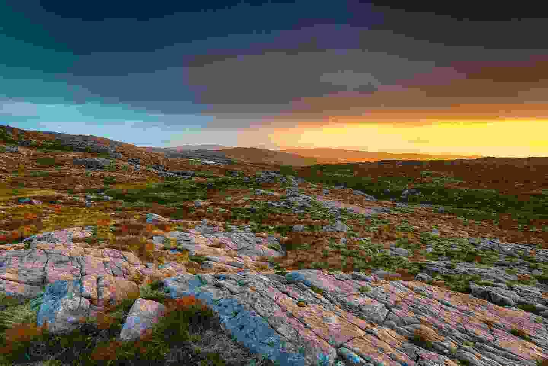 Looking towards Applecross from Bealach Na Ba Mountain (Shutterstock)