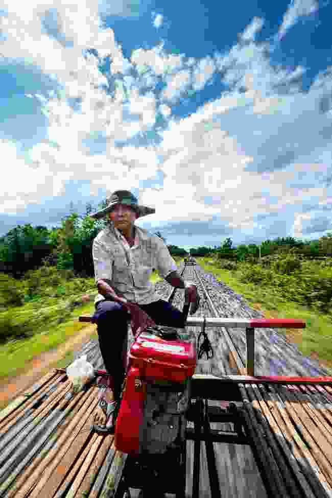 Riding the bamboo train (Alex Robinson)