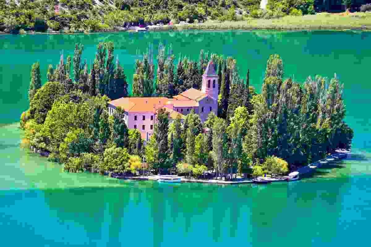 Visovac Monastery (Dreamstime)