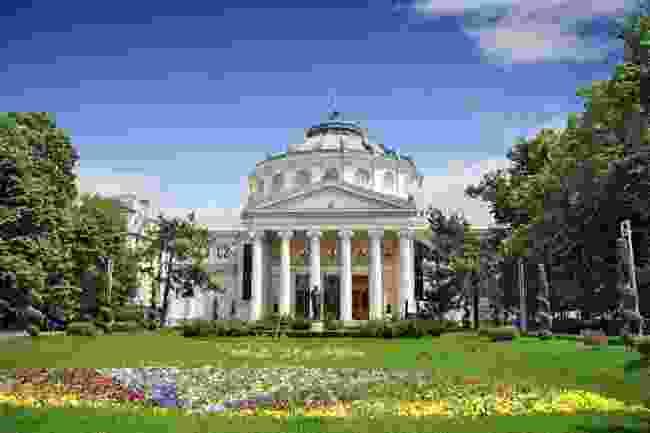 Romanian Athenaeum, Bucharest (Shutterstock)