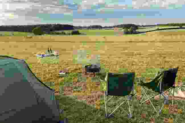 Abbey Home Organic Farm, Gloucestershire (Almost Wild Camping)