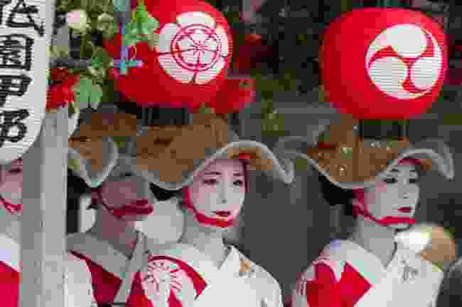 Apprentice geisha in Kyoto, Japan (Shutterstock)