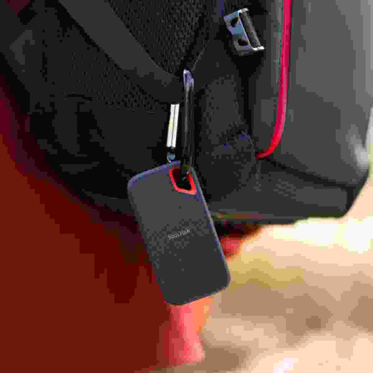 SanDisk Extreme Portable SSD drive (SanDisk)
