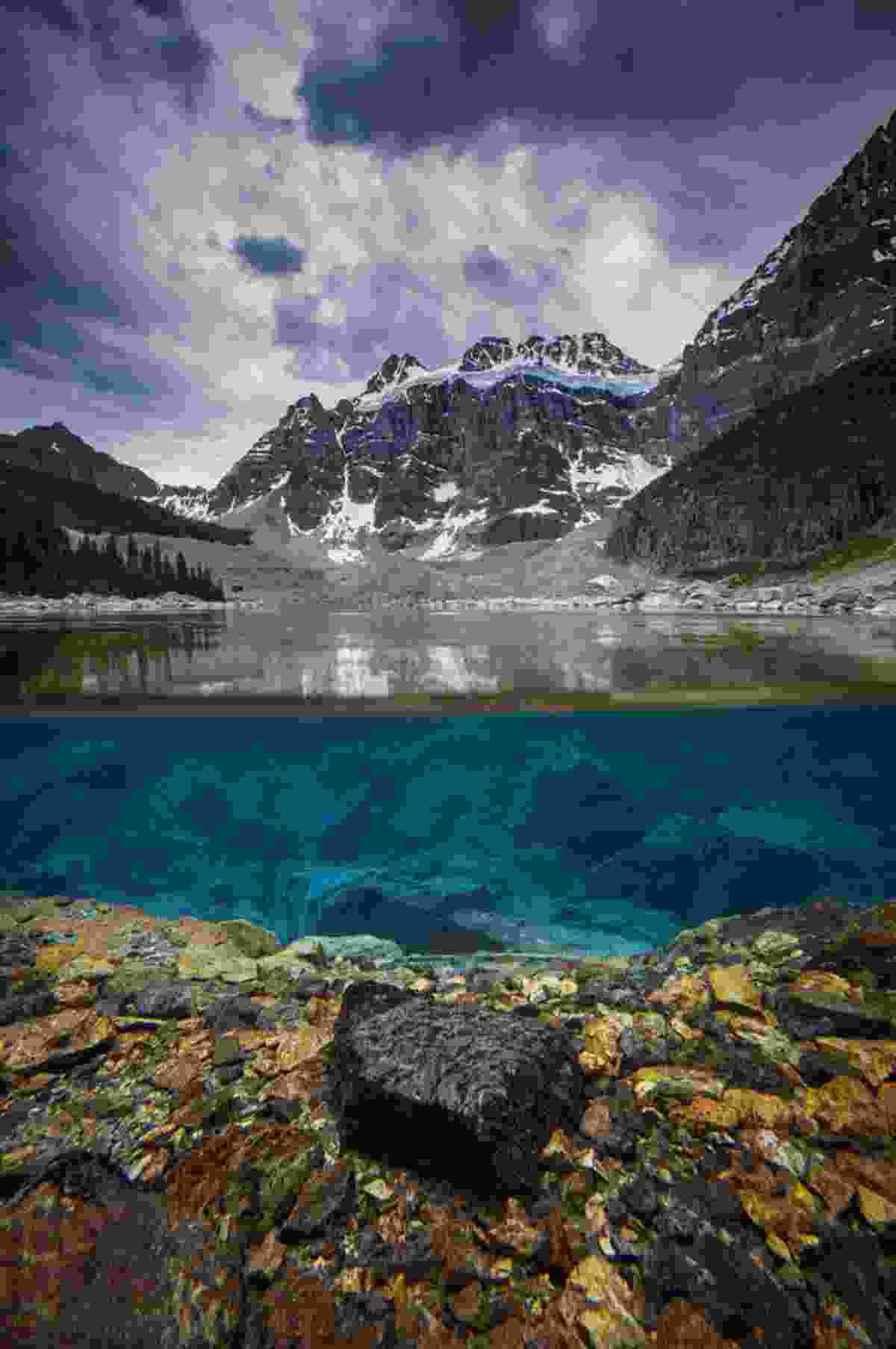 Underwater Colours of Consolation Lakes (Paul Zizka)