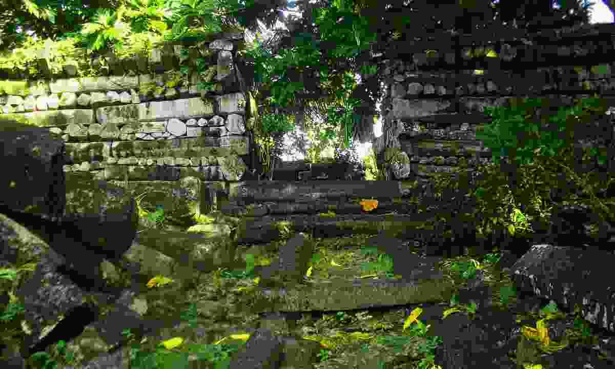 Nan Nadol ruins (Dreamstime)