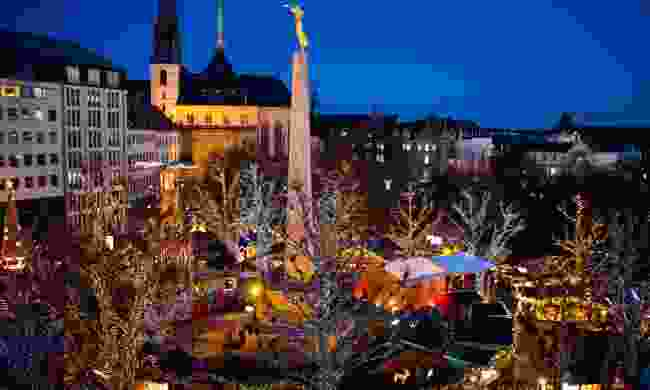 Christmas Market in Luxembourg (Dreamstime)