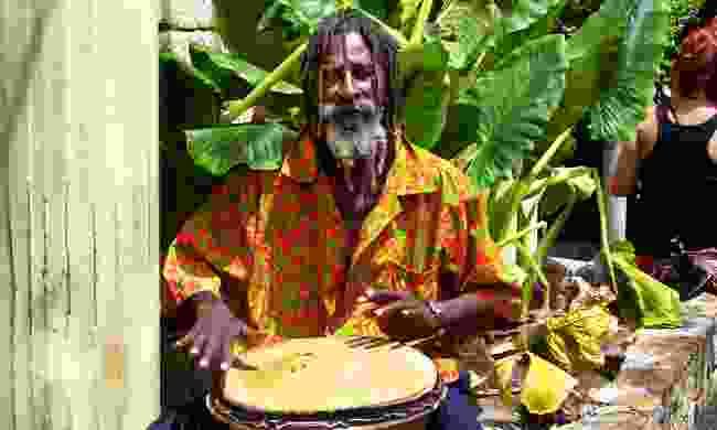 Antigua street musician (Dreamstime)