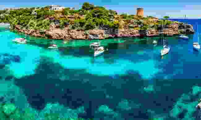 The bay at Cala Pi (Dreamstime)