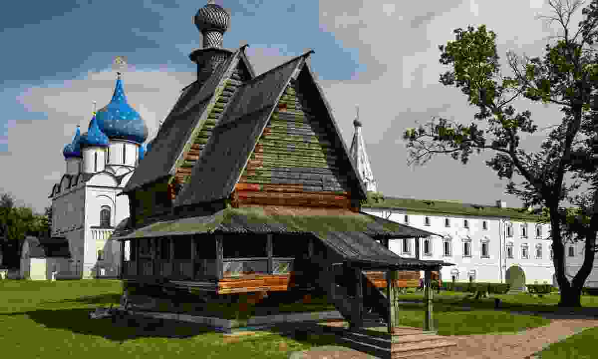 The wooden Church of St. Nicholas, Suzdal (Dreamstime)