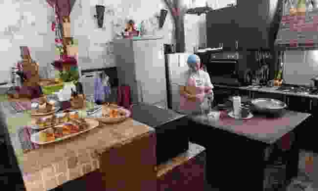 The kitchen at Toon Armeni (Peter Moore)