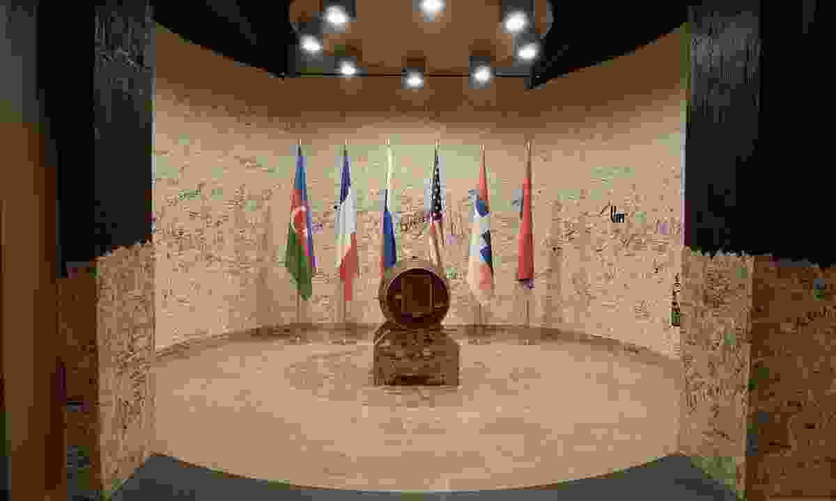 The Karabakh peace barrel (Peter Moore)