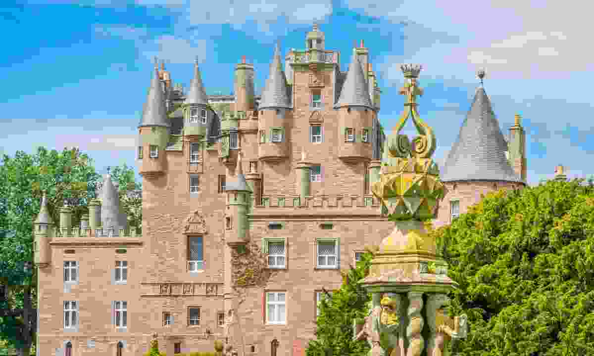 The turrets of Glamis Castle (Shutterstock)