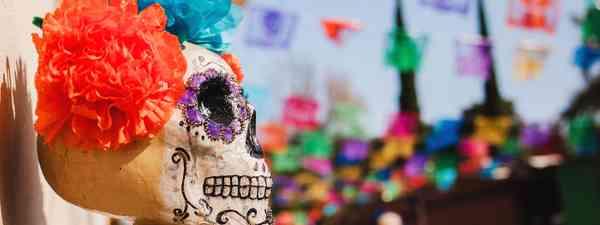 Day of the Dead Sugar Skull (Dreamstime)