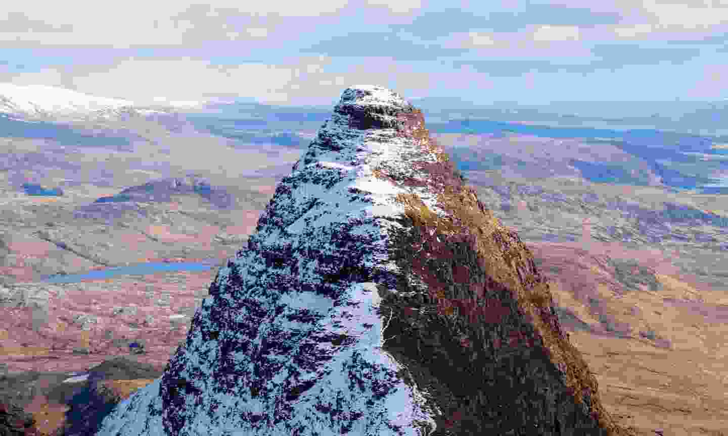 The top of Suilven Mountain (Dreamstime)