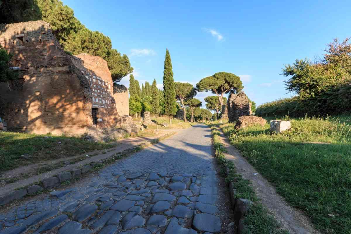 Via Appia, Rome. (Dreamstime)