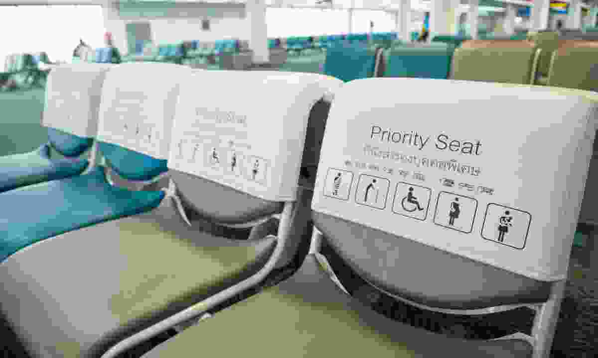 Priority seats available to disabled passengers (Dreamstime)